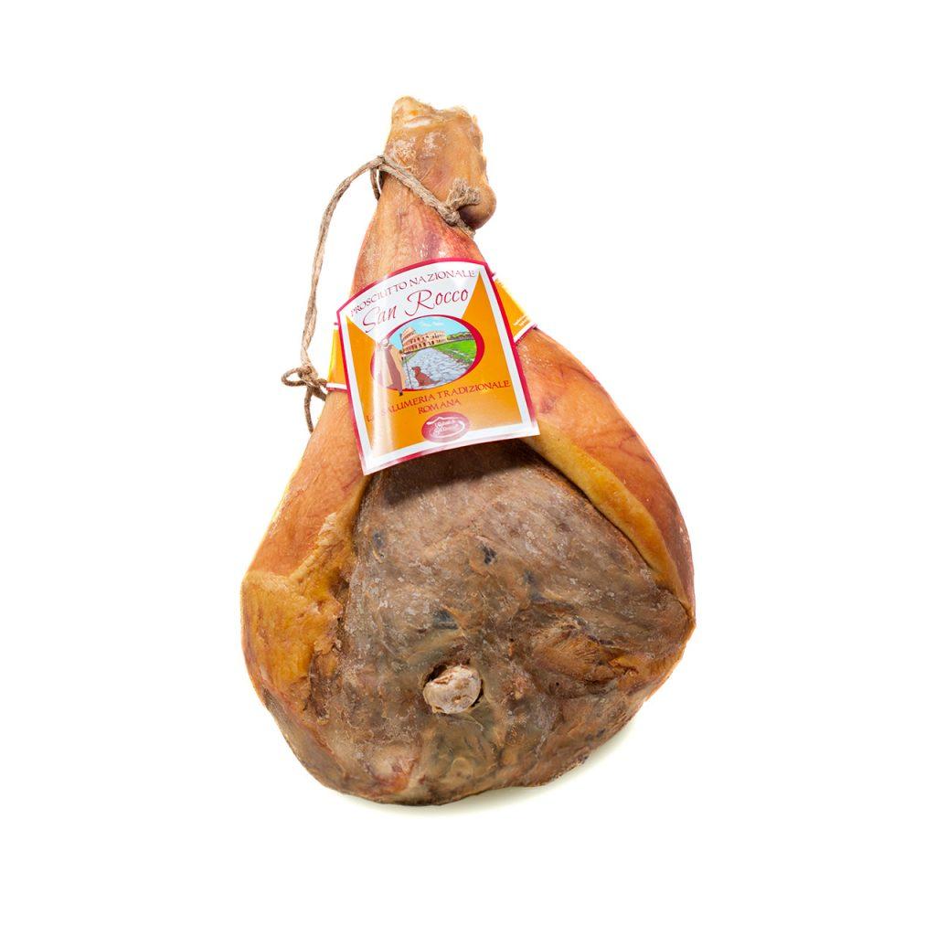 Prosciutto crudo dolce nazionale San Rocco