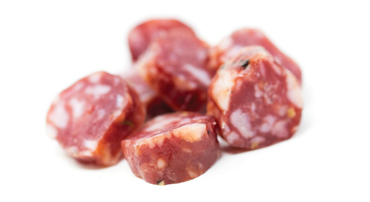 salsiccia rustica dolce stagionata San Rocco